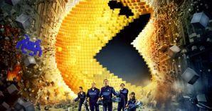 Una scena del film �Pixels�