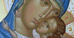 """La Madonna detta """"della tenerezza"""""""