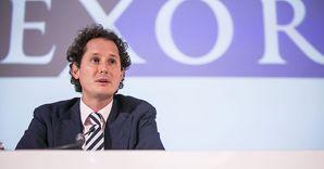 Il presidente di Exor, John Elkann (Agf)