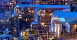 Un'immagine dell'impianto di Tengiz in Kazakhstan