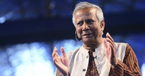 Il premio Nobel per la pace, Mohammad Yunus (Corbis)