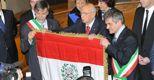 Napolitano apre le celebrazioni per i 150 anni dell'unità d'Italiam (Ansa)