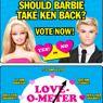 Ken, emblema dell'uomo accessorio, tornerà con Barbie? Si deciderà con facebook e un reality show