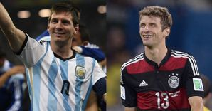 Leo Messi e Thomas M�ller