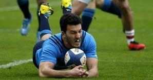 L'ala della nazionale italiana Leonardo Sarto. (Reuters) (REUTERS)
