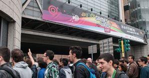 Nella foto il pubblico di Games Week 2013