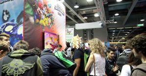 Nella foto il pubblico della IV edizione di Games Week a Milano (Fotogramma) (FOTOGRAMMA)