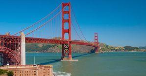 Nella foto il Golden Gate Bridge a San Francisco (Corbis)