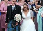 Nozze in kilt per il tennista Andy Murray