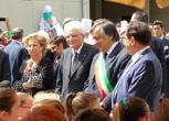 Il presidente Sergio Mattarella a Palermo
