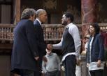 L'omaggio di Obama a Shakespeare al Globe Theatre