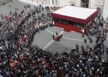 Funerali di Pietro Ingrao a Roma