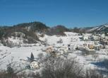 Le prime nevicate sull'Italia centrale