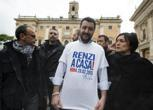 La protesta anti-Lega