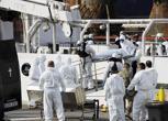 La Guardia Costiera raccoglie le vittime del naufragio