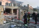 Sanremo, esplosione nella villa che ospita Garko