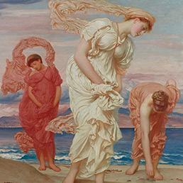 Lord Leighton, Ragazze greche sulla spiaggia 1871