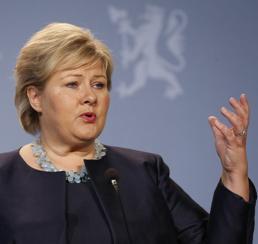 Erna Solberg (Reuters)