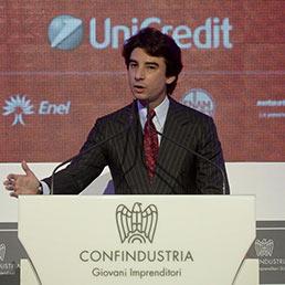 Il presidente dei giovani imprenditori di Confindustria Jacopo Morelli