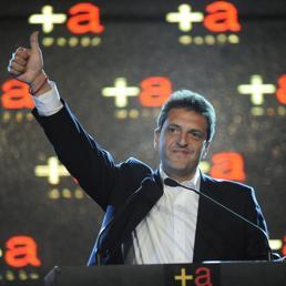 Sergio Massa, 41 anni (Epa)