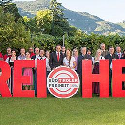 Simpatizzanti del Süd-Tiroler Freiheit