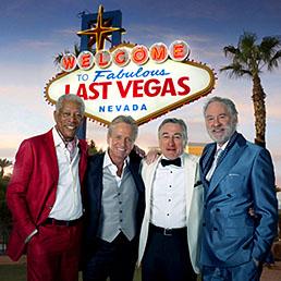 La locandina della commedia «Last Vegas», diretta da Jon Turteltaub