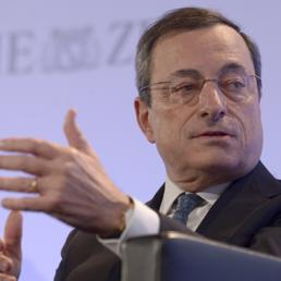 Il presidente della Bce Mario Draghi (Reuters)