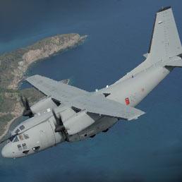 Il C-27J Spartan di Alenia Aermacchi