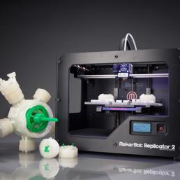 La stampante 3d MakerBot