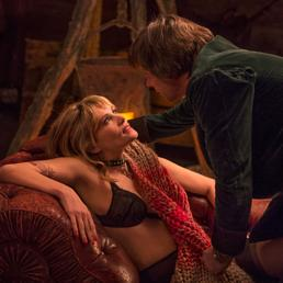 """Una scena del film """"Venere in pelliccia"""""""