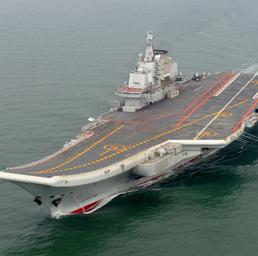 La portaerei Liaoning (Ap)