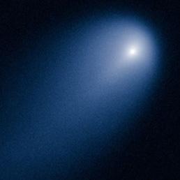 La cometa ISON ripresa nei giorni scorsi dello Hubble Space Telescope