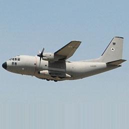Un aereo della Afghan Air Force