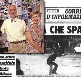 Paolo Pedrizzetti e lo scatto simbolo (ANSA)