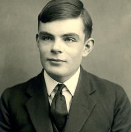 Alan Turing, il genio matematico. (Afp)