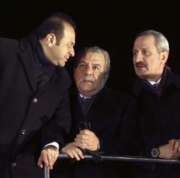 Egemen Bagis , Muammer Guler,Zafer Caglayan (Ap)