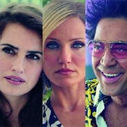 I protagonisti del film «The Counselor - Il procuratore»: da sinistra Michael Fassbender, Penélope Cruz, Cameron Diaz, Javier Bardem e Brad Pitt