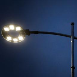 Enel, sulle strade più lampioni a LED (Fotogramma)