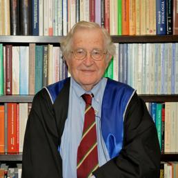 Noam Chomsky (Foto di Franco Bottoni)
