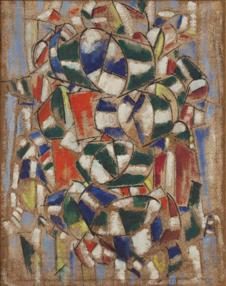 Il quadro attribuito al pittore Henri Leg�r (1881 1955) e ora trovato falso grazie alle analisi di fisica nucleare