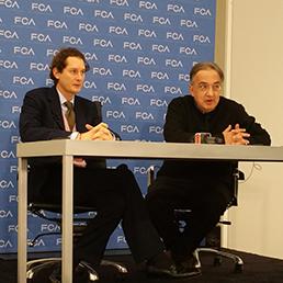 John Elkann e Sergio Marchionne (foto di Mario Cianflone)