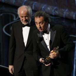 Toni Servillo e Paolo Sorrentino (Reuters)