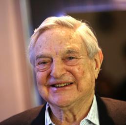 George Soros (Bloomberg)