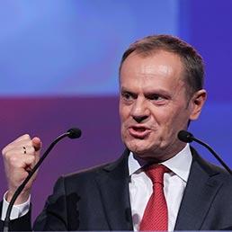 Il premier polacco Donald Tusk (Afp)