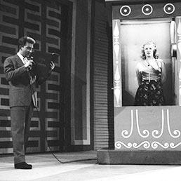 1956: Lascia o raddoppia?, Trasmissione tv condotta da Mike Bongiorno (Olycom)