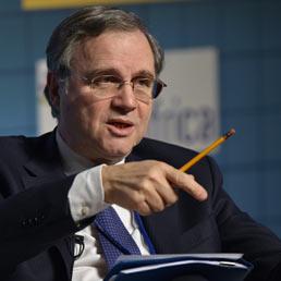 Il governatore della Banca d'Italia, Ignazio Visco