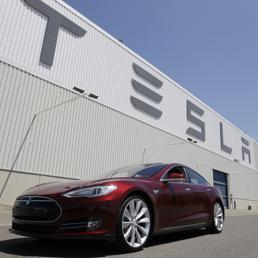 Nella foto una Tesla Model S