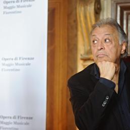 Zubin Mehta alla presentazione MaggioMusicale (Ansa)