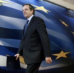 Il Primo ministro greco Antonis Samaras (Reuters)