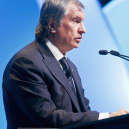 Il numero uno del colosso energetico Rosneft, Igor Sechin. (Reuters)